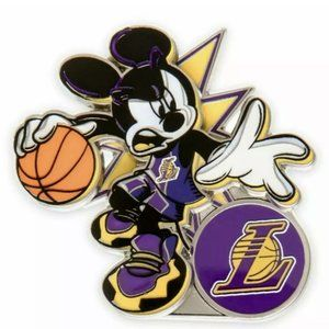 Disney Mickey Mouse NBA Experience Pin Los Angeles